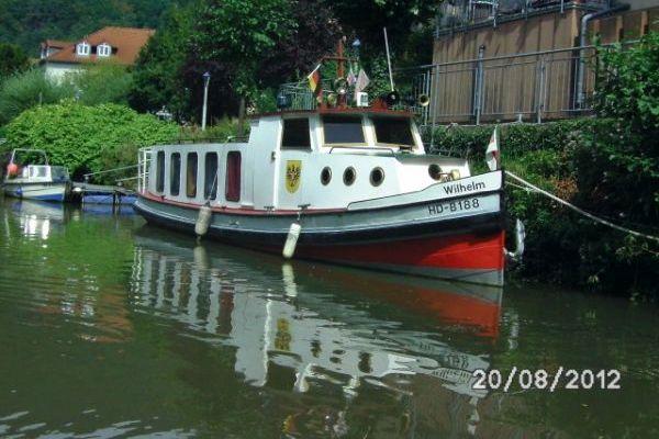 Barkasse der Jensen-Werft, Hamburg
