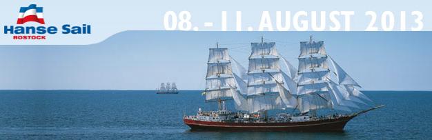 Start der Hanse Sail Rostock
