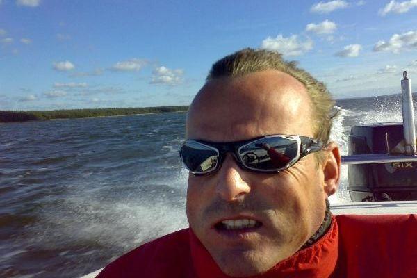 Offshore auf dem Weg nach Hiddensee