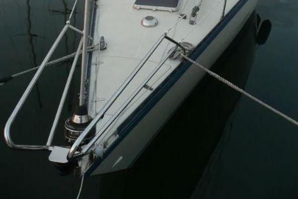 90523-1030255   Sverjö vom Bugkorb übers Schiff