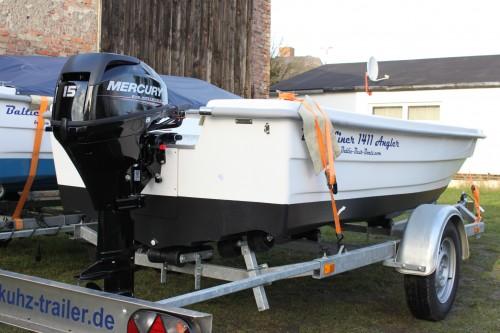 balticliner 1411 angler trailer motor 15 ps neu. Black Bedroom Furniture Sets. Home Design Ideas