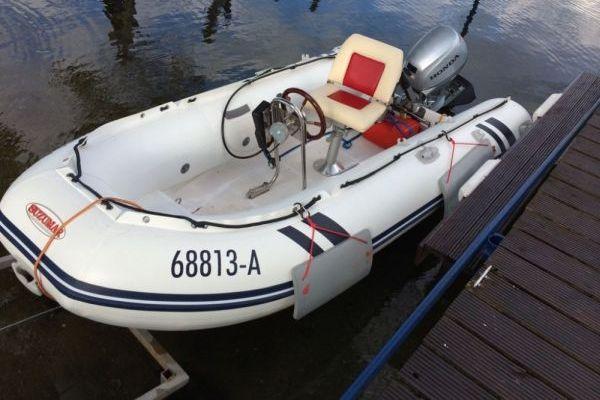 Suzuki Suzumar 350 RIB Schlauchboot…