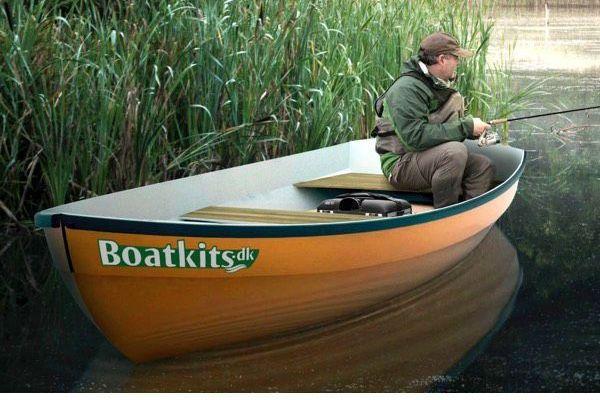 13′ Schwan Bootsbausatz