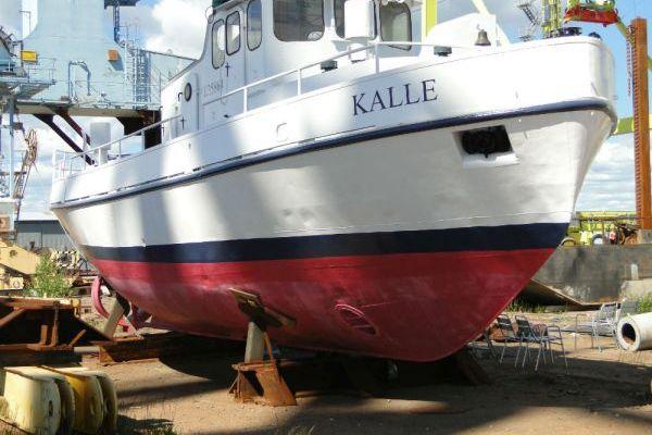 Werftbau Boot