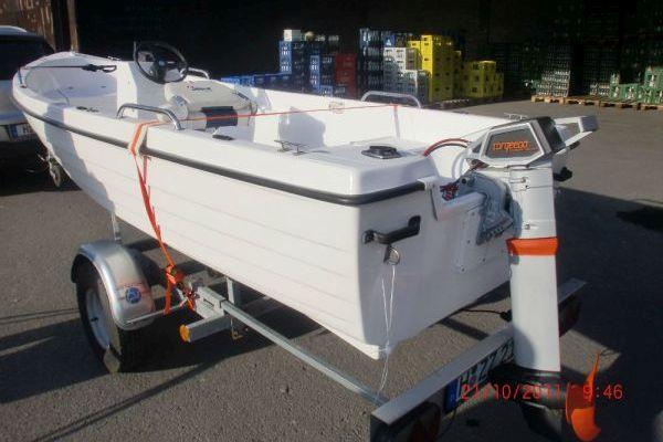 Elektroboot, Big Anker, GFK