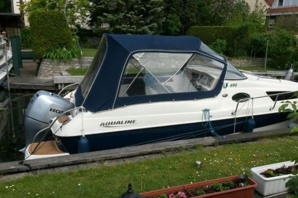 Sportboot AQUALINE 690 WEEKEND 99,26kW/135,00PS