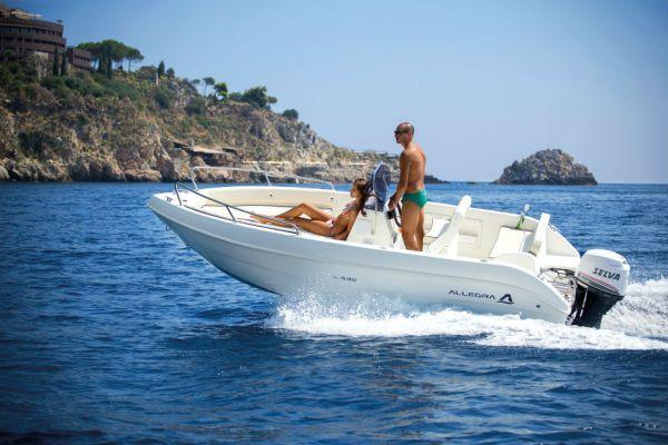Allegra All 530 5,30m. Konsolenboot,…
