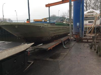 allierten Landungsboot 2. Weltkrieg