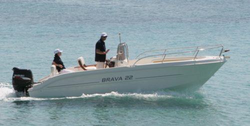Mingolla 22 Open Konsolenboot Offen NEU