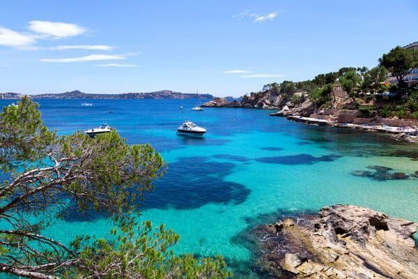Mega-Yachten auf Mallorca
