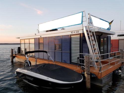 floating house 44 hausboot gebraucht kaufen bei gebrauchtboote markt. Black Bedroom Furniture Sets. Home Design Ideas