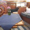 Blick Salon zu Kombüse u Vorschiff