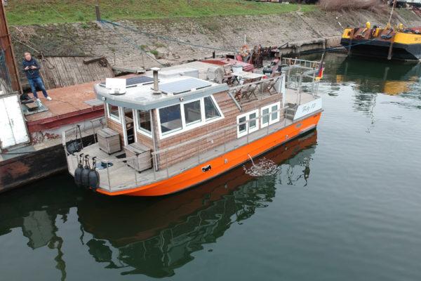 Pacemaker 1100 Hausboot NEUAUFBAU 2015
