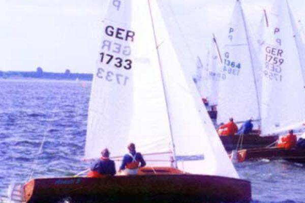 Bopp Dietrich 15er Jollenkreuzer P-Boot