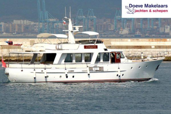 Classic Motoryacht 72′, Long range
