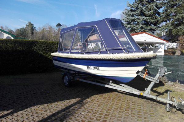 Mittelkonsolboot MYSTRALY 500 OPEN