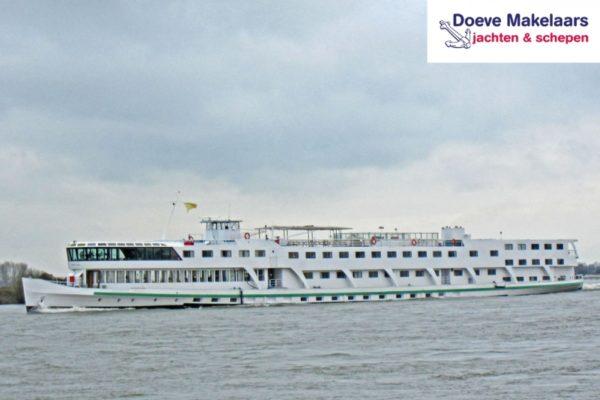 Hotel Passagierschiff 144 Passagiere