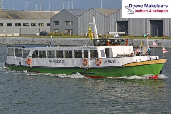 Fahrgastschiff Jan Plezier 75 gäste