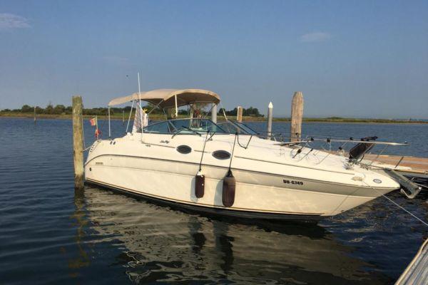Sea Ray 260 Sundancer, Diesel